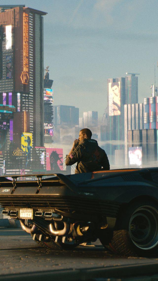 Wallpaper cyberpunk 2077 e3 2018 screenshot 4k games 19072 - Cyberpunk 2077 wallpaper 4k ...