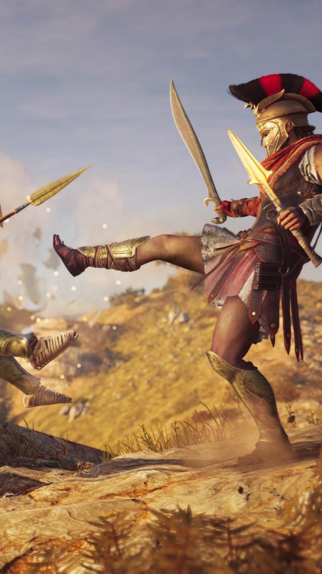 Wallpaper Assassin S Creed Odyssey E3 2018 Screenshot 4k Games