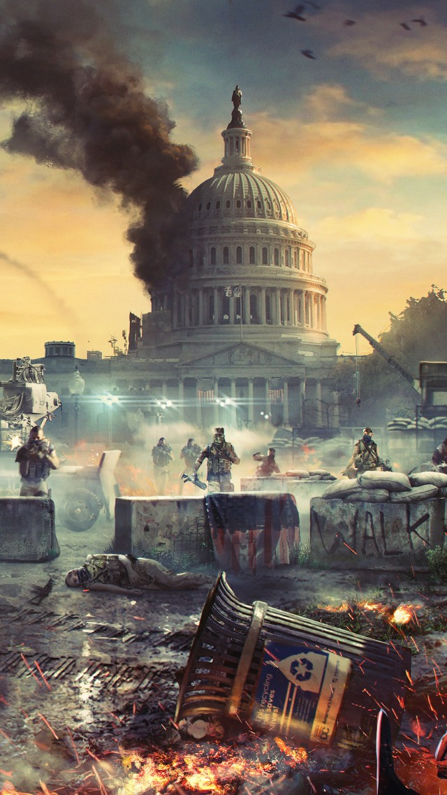 Tom Clancy's The Division 2, E3 2018, artwork, 7K (vertical)
