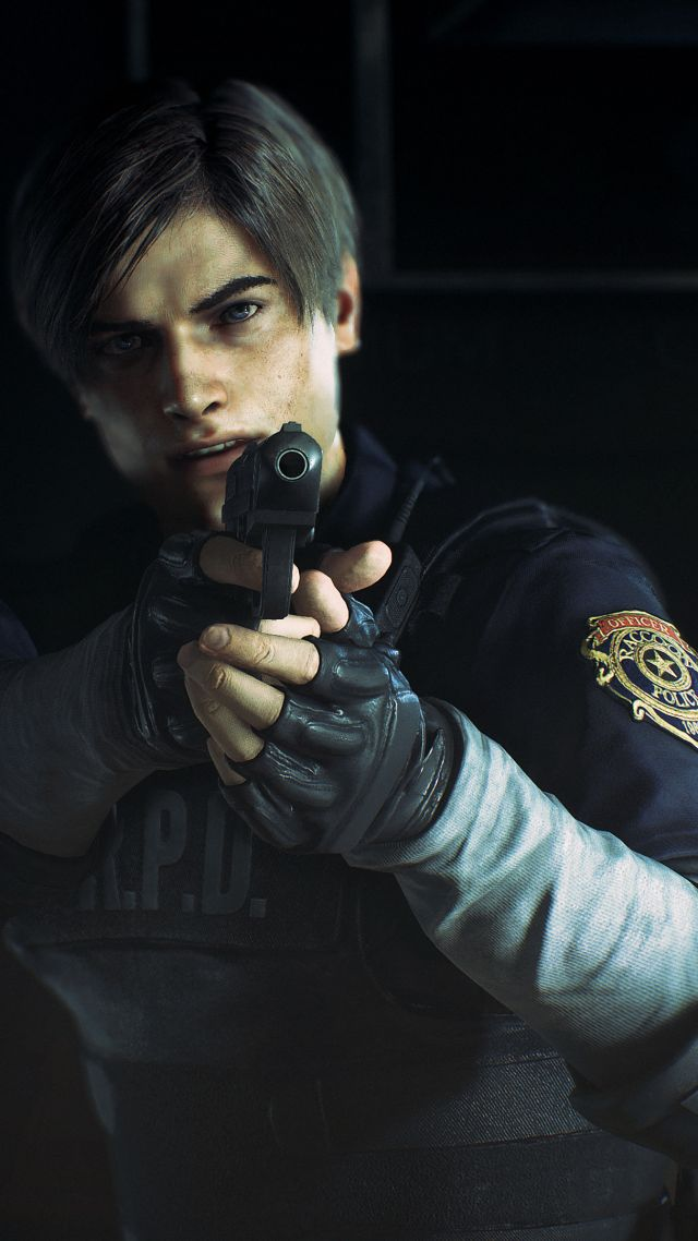 ... Resident Evil 2, E3 2018, screenshot, 4K (vertical)