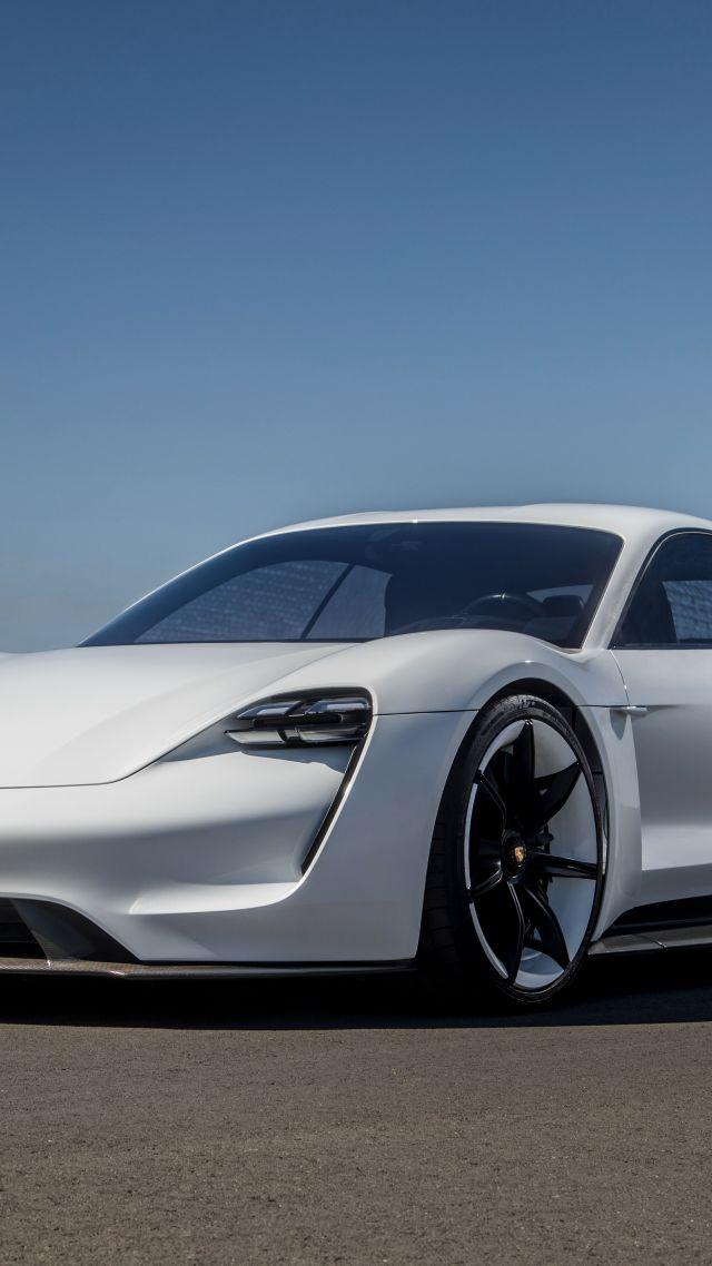 Wallpaper Porsche Taycan Electric Car Supercar 2020 Cars 4k
