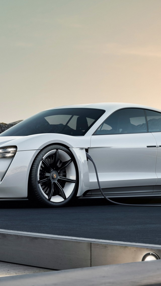 Porsche Taycan, Electric Car, supercar, 2020 Cars, 4K (vertical)