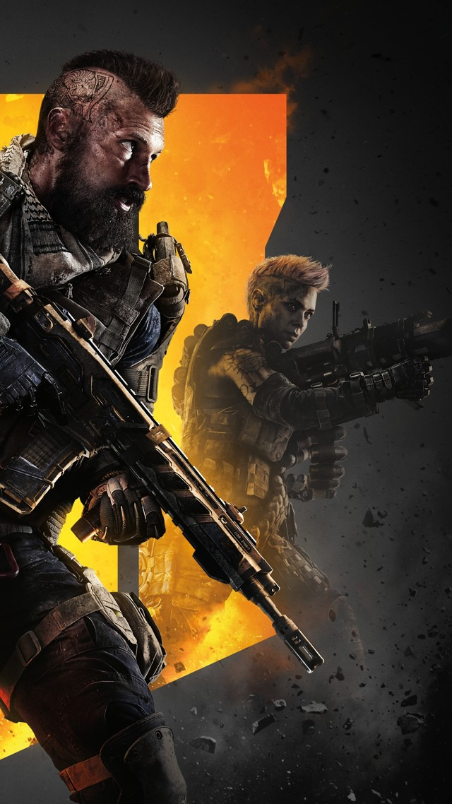 Wallpaper Call Of Duty Black Ops 4 Poster 4k Games 19384