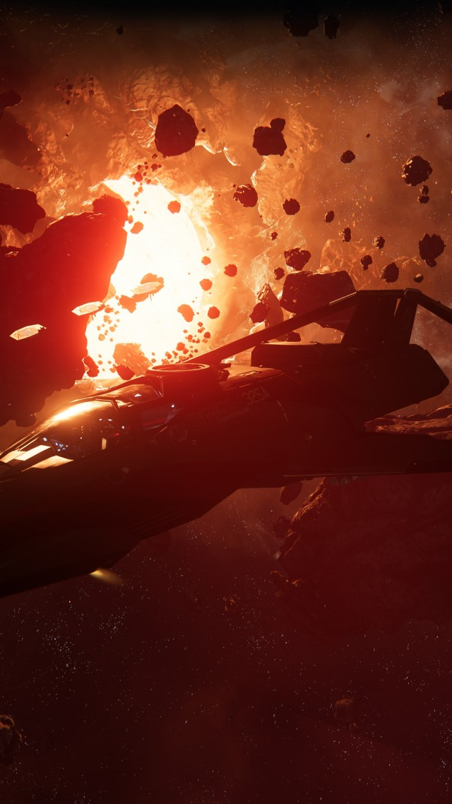 Star Citizen, screenshot, 4K (vertical)