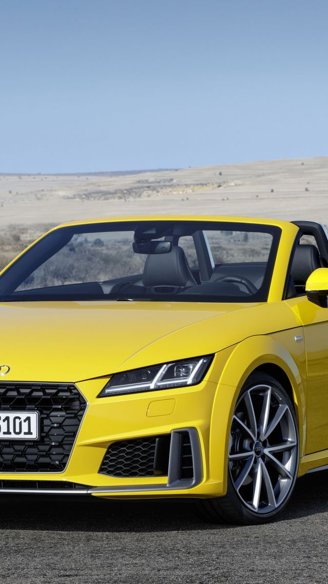 Wallpaper Audi Tt Quattro Roadster 2019 Cars 4k Cars
