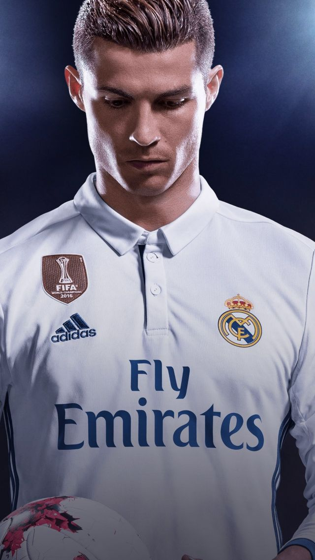 Wallpaper Cristiano Ronaldo Portugal Real Madrid Soccer