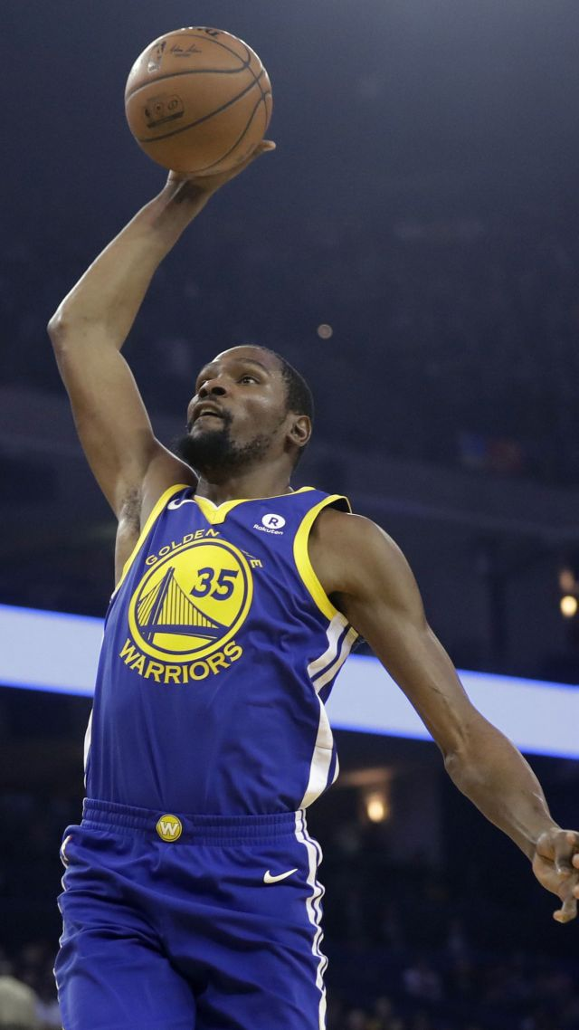 Wallpaper Kevin Durant Golden State Warriors Basketball Nba 4k