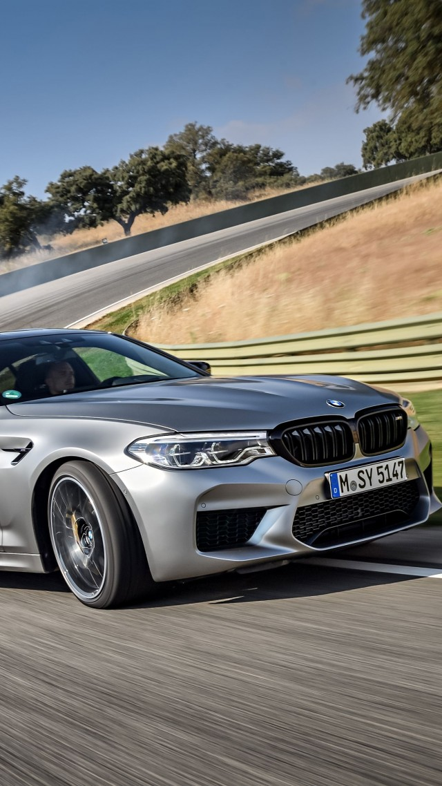 BMW M5 Competition, 2019 Cars, limited edition, 4K (vertical)