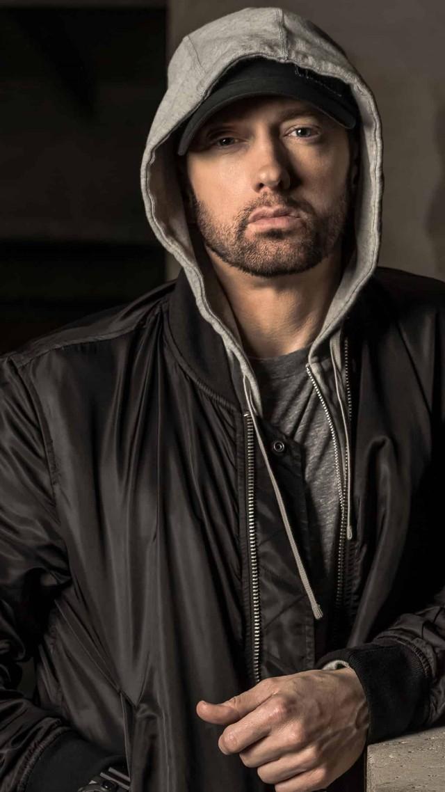 ... Eminem, singer, rapper, actor, 4K (vertical)