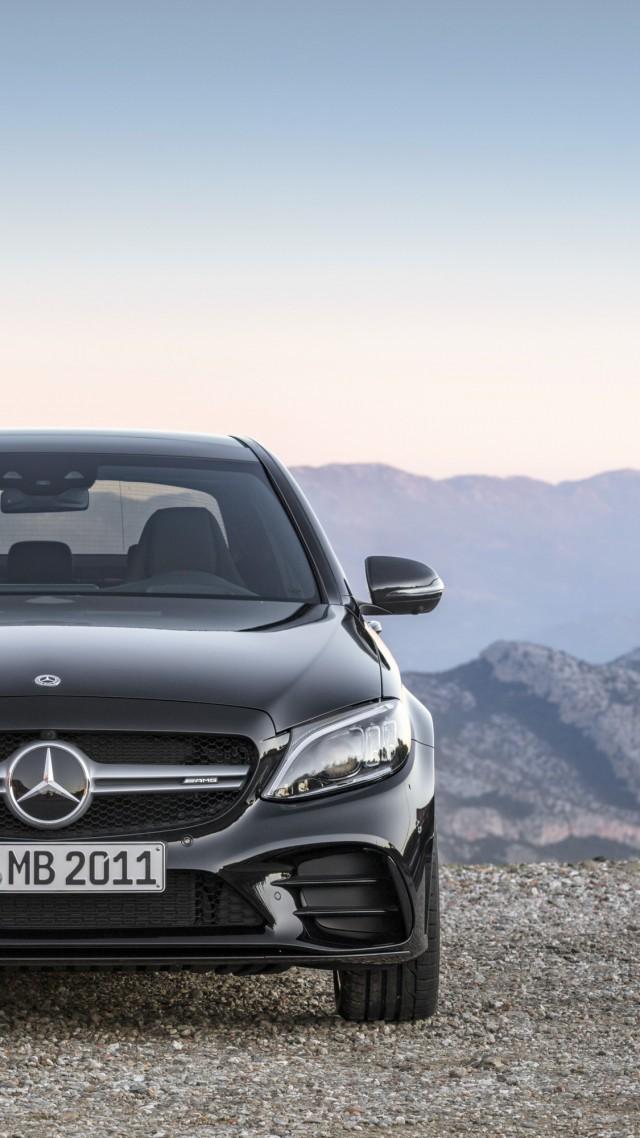 Wallpaper Mercedes Benz C43 Amg 4matic 2019 Cars 4k Cars