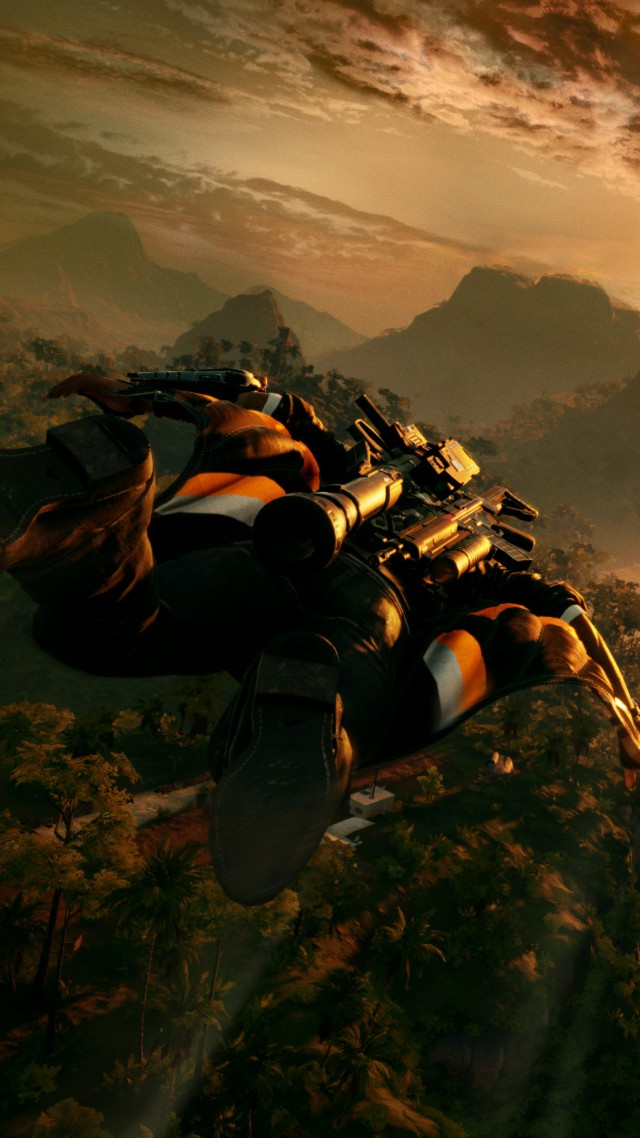Just Cause 4, Gamescom 2018, screenshot, 4K (vertical)