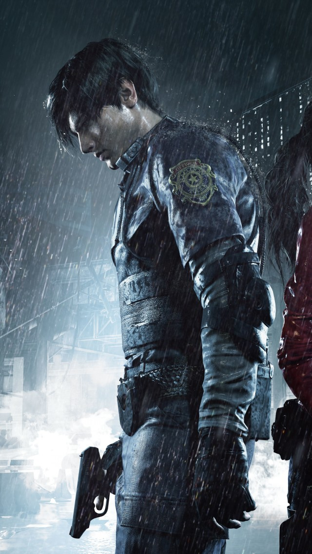Resident Evil 2, Gamescom 2018, poster, artwork, 10K (vertical)