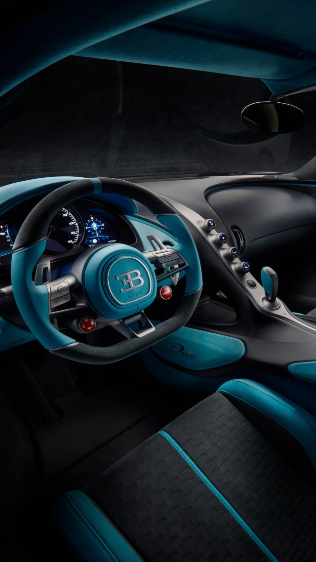 Bugatti Divo, 2019 Cars, supercar, 4K (vertical)