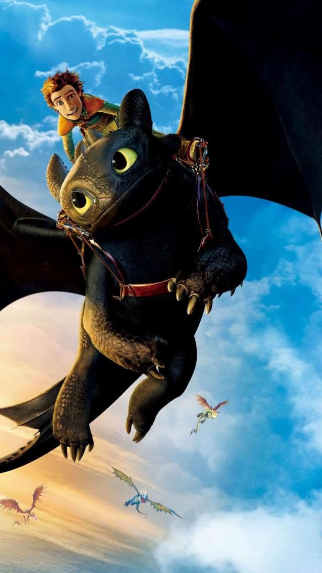 Wallpaper How To Train Your Dragon The Hidden World Poster