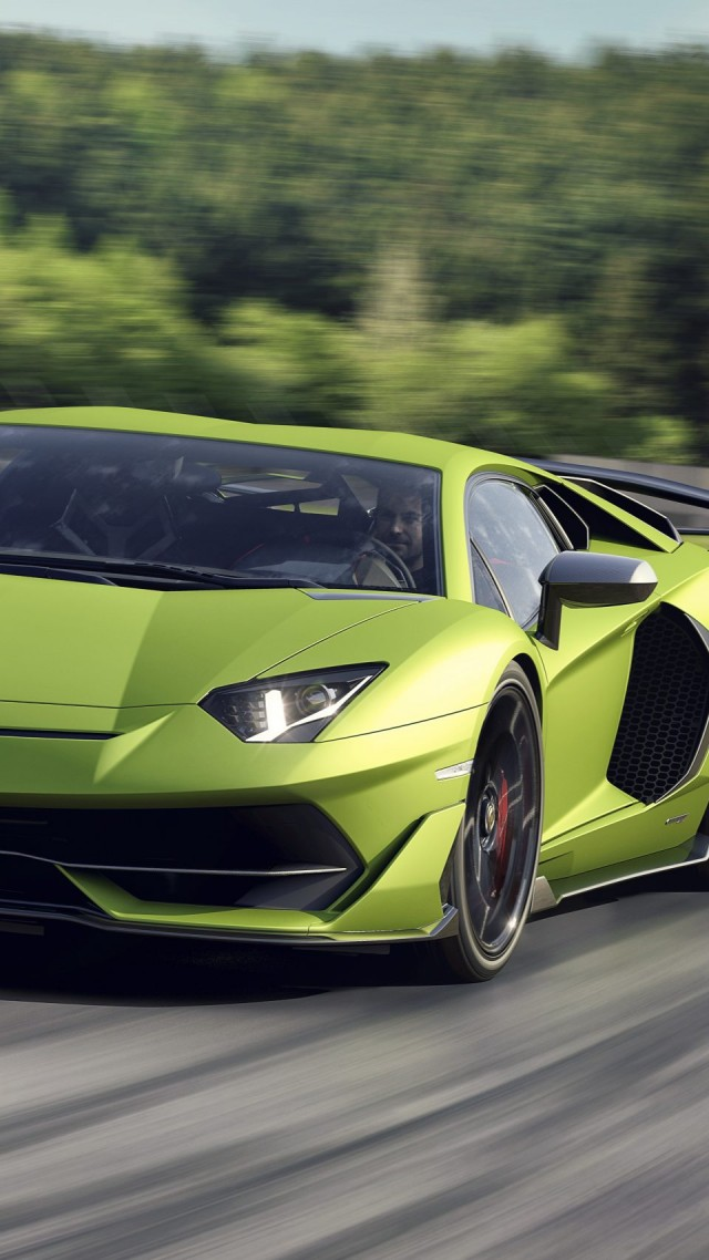 Wallpaper Lamborghini Aventador Svj 2019 Cars Supercar Hd Cars
