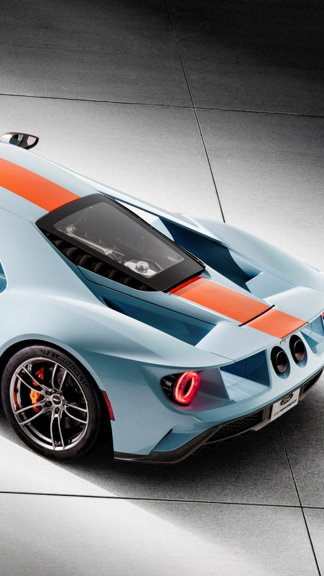 Ford GT Heritage Edition, 2019 Cars, supercar, 5K (vertical)