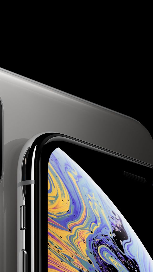 Wallpaper Iphone Xs Iphone Xs Max Silver Smartphone