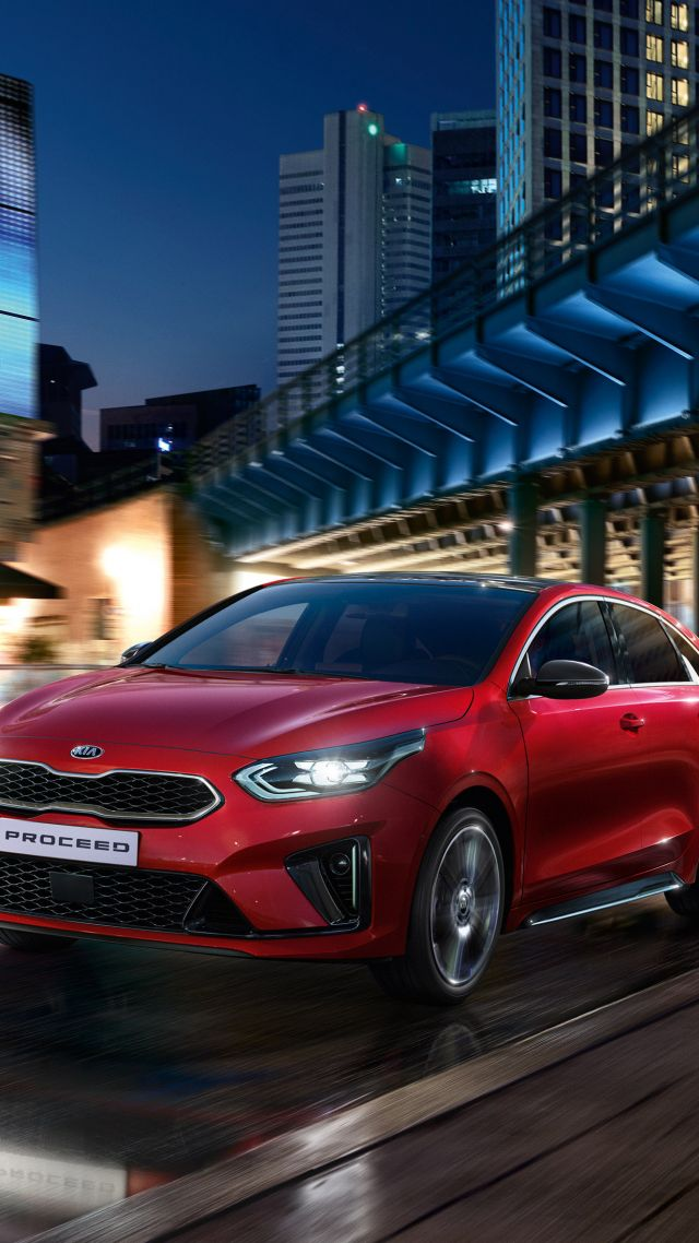 Kia ProCeed GT, 2019 Cars, 4K (vertical)
