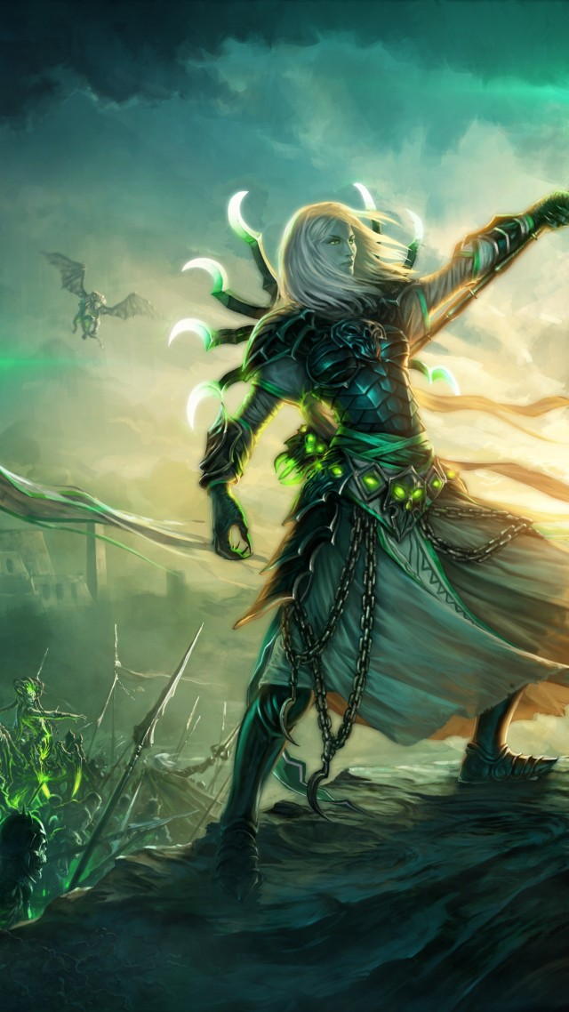 Green Mage Wallpaper Might & ...