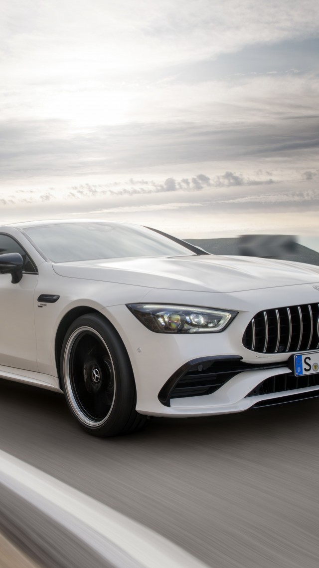 Mercedes-Benz AMG GT43 4-Door, 2019 Cars, 5K (vertical)