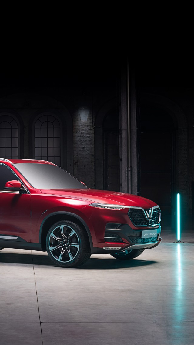 VinFast LUX A2.0, SUV, 2019 Cars, 5K (vertical)