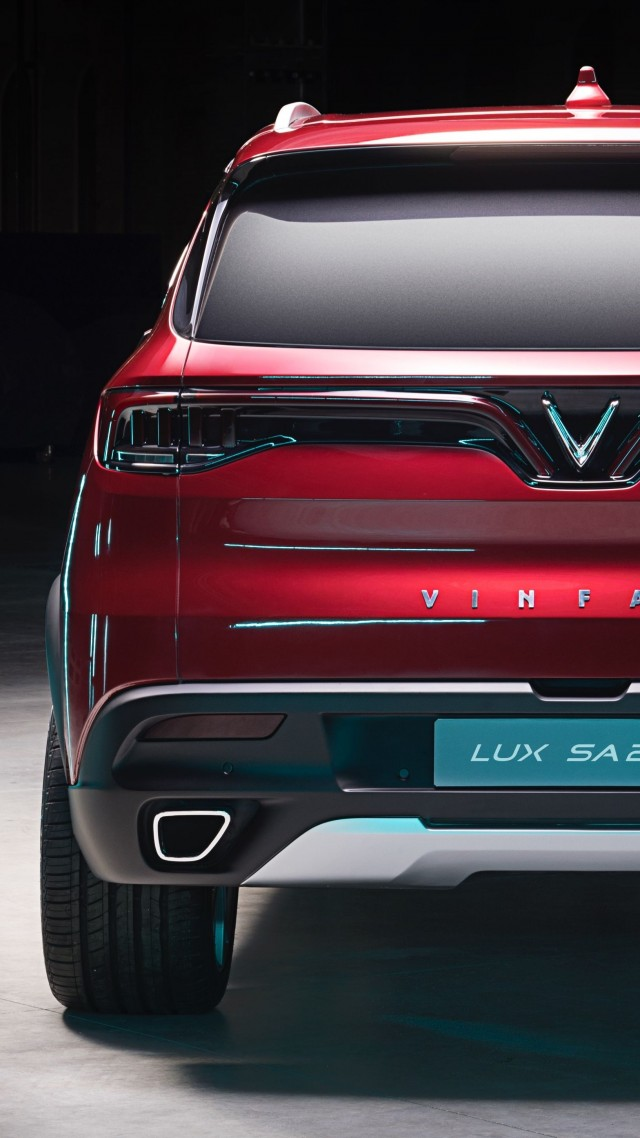 VinFast LUX A2.0, SUV, 2019 Cars, 4K (vertical)