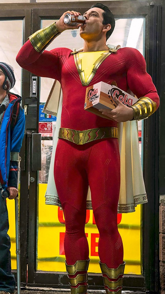 Shazam!, Zachary Levi, Asher Angel (vertical)