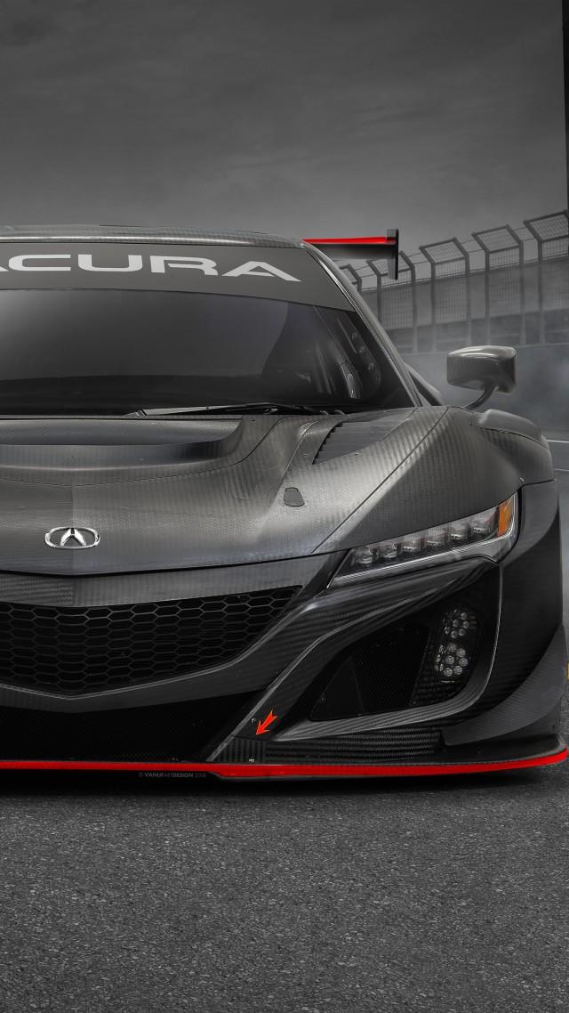 Wallpaper Acura Nsx Gt3 Evo 2019 Cars Supercar 4k Cars