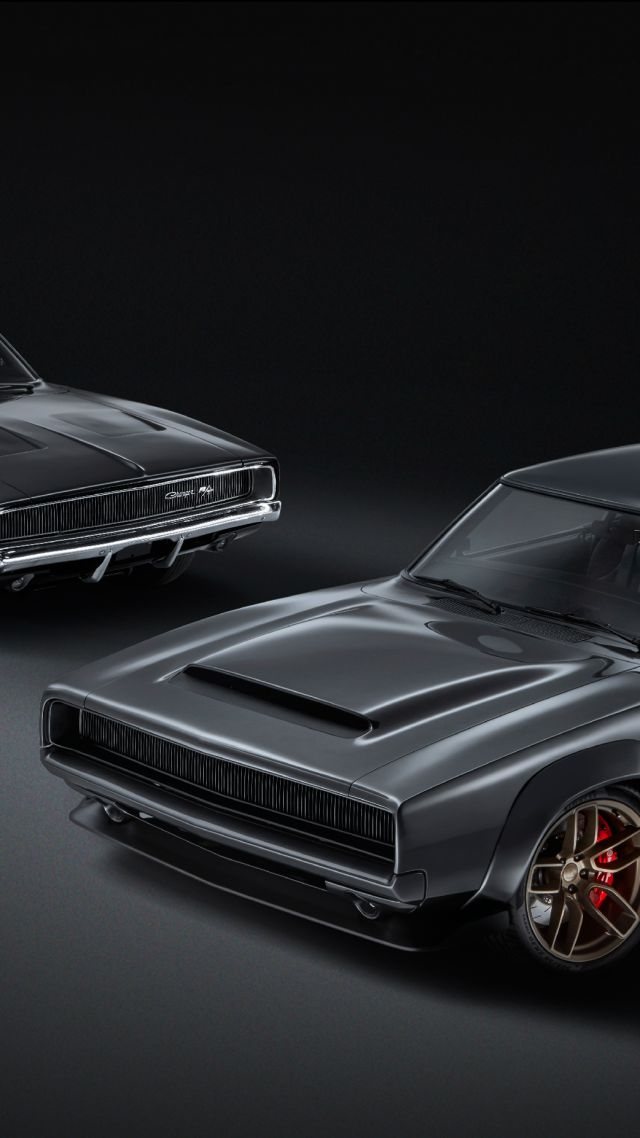 Dodge Super Charger 1968, 2018 Cars, 4K (vertical)