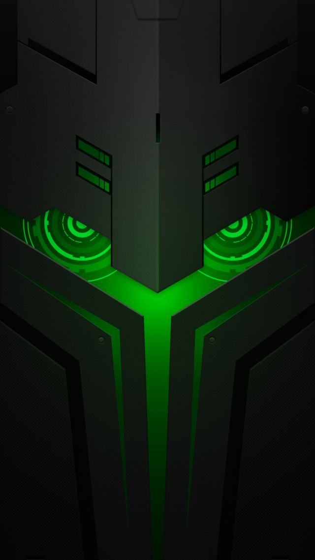 Wallpaper Xiaomi Black Shark Helo, abstract, Android 8.0, HD, OS