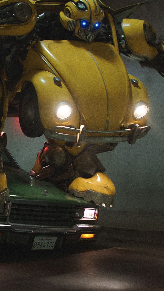 Transformers: Bumblebee, 4K (vertical)