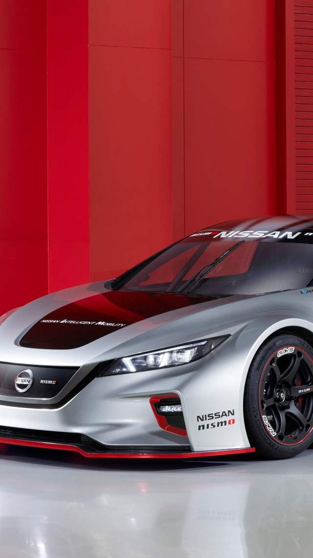 Nissan Leaf Nismo RC, 2018 Cars, electric cars, 5K (vertical)