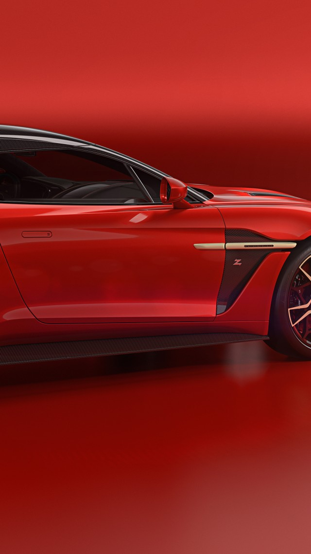 Aston Martin Vanquish Zagato Shooting Brake, 2019 Cars, 5K (vertical)