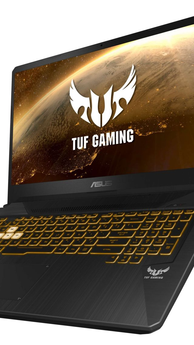 ASUS TUF Gaming FX505DY & FX705DY, CES 2019, 4K (vertical)