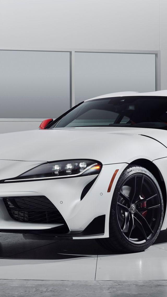 Wallpaper Toyota Supra A90 2020 Cars 2019 Detroit Auto