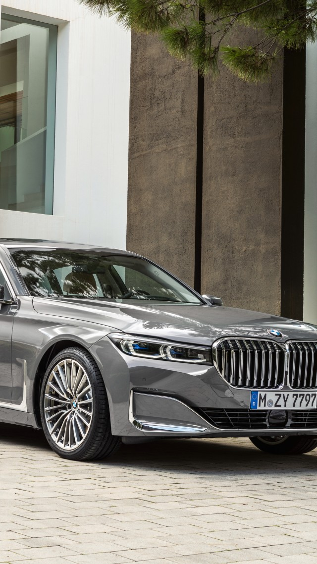 BMW 750Li xDrive, 2019 Cars, 4K (vertical)