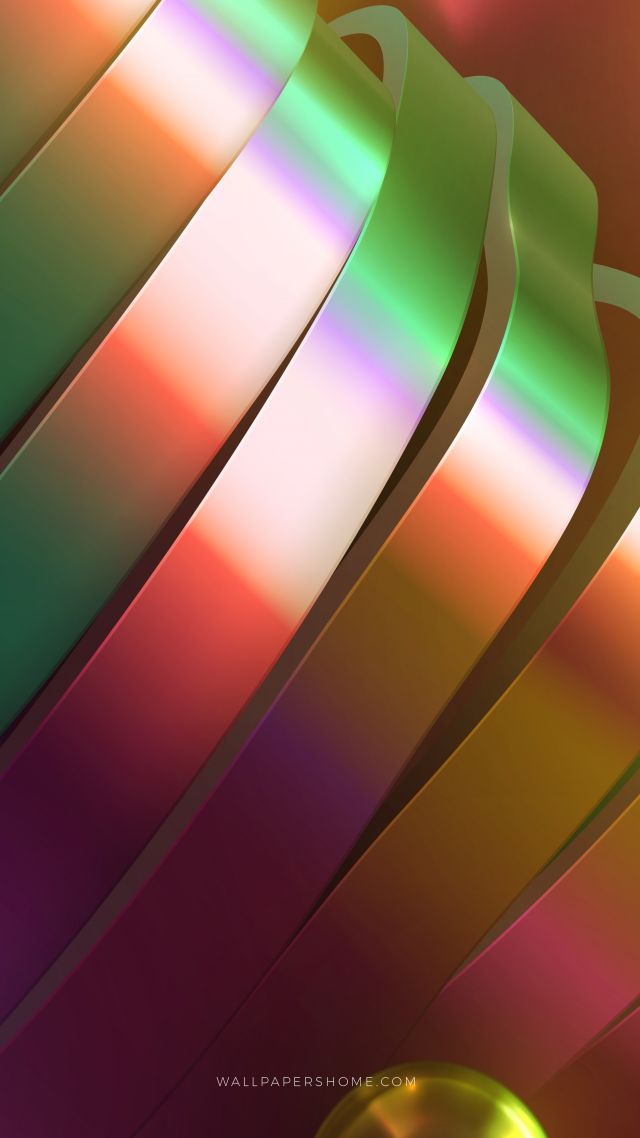 abstract, 3D, colorful, 8k (vertical)