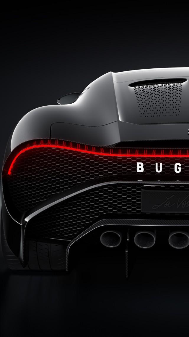Wallpaper Bugatti La Voiture Noire, Geneva Motor Show 2019, 2019 Cars, supercar, 5K, Cars ...