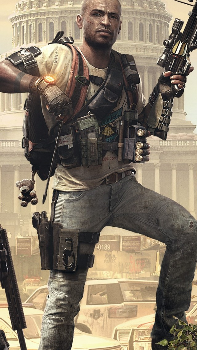 Tom Clancy's The Division 2 Episodes, E3 2019, poster, HD (vertical)
