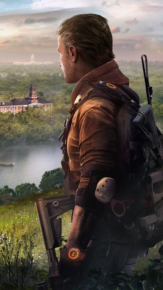 Tom Clancy's The Division 2 Episodes, E3 2019, poster, 5K (vertical)