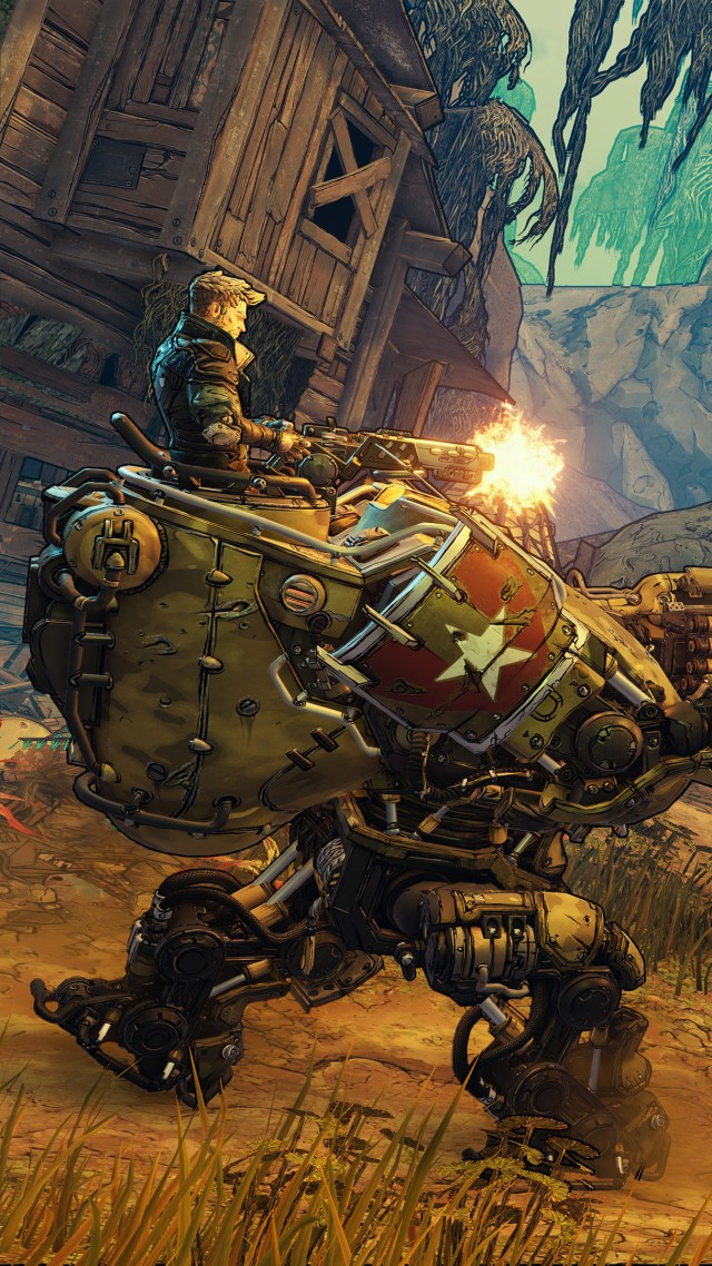 Borderlands 3, E3 2019, artwork, 4K (vertical)