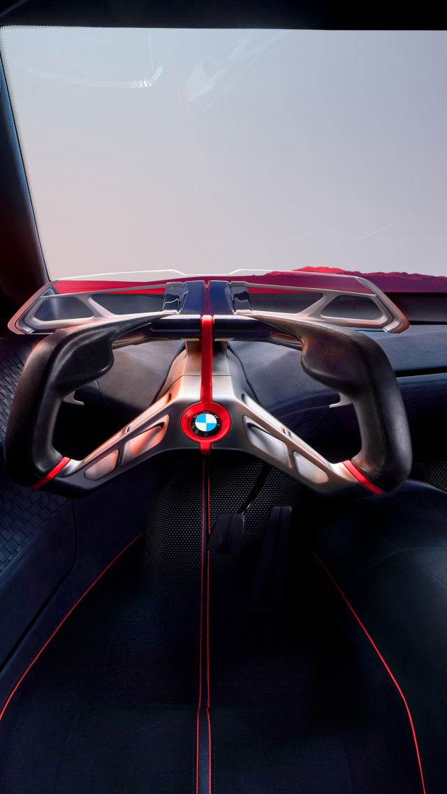 BMW Vision M NEXT, electric cars, 2019 cars, 4K (vertical)