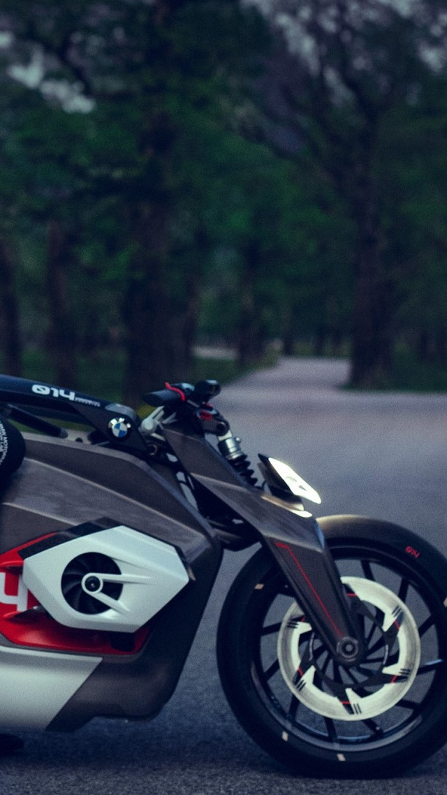 BMW Motorrad Vision DC Roadster, electric bikes, 2019 bikes, HD (vertical)