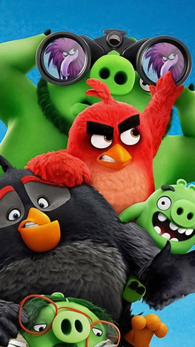 The Angry Birds Movie 2, poster, 4K (vertical)