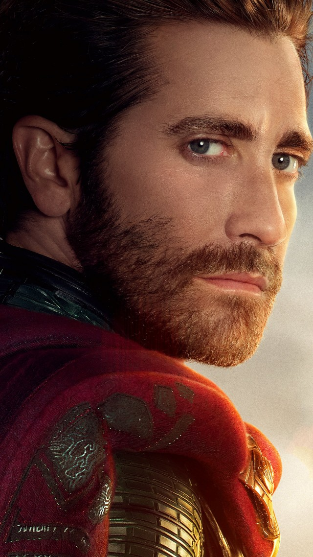 Spider-Man: Far From Home, Jake Gyllenhaal, 5K (vertical)
