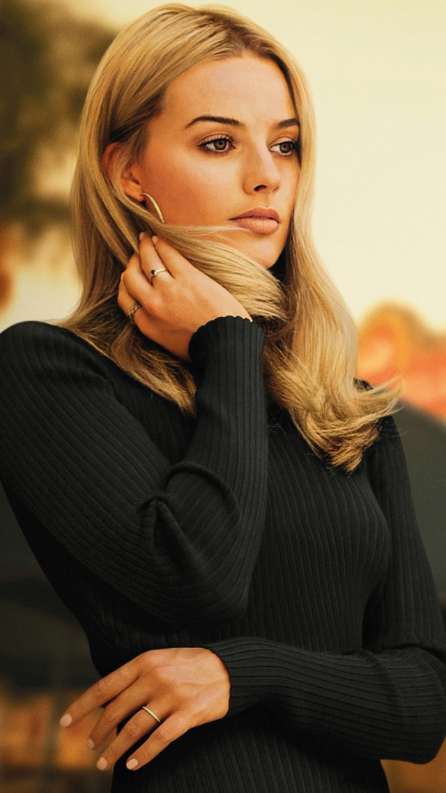 Once Upon A Time In Hollywood, Margot Robbie, 4K (vertical)