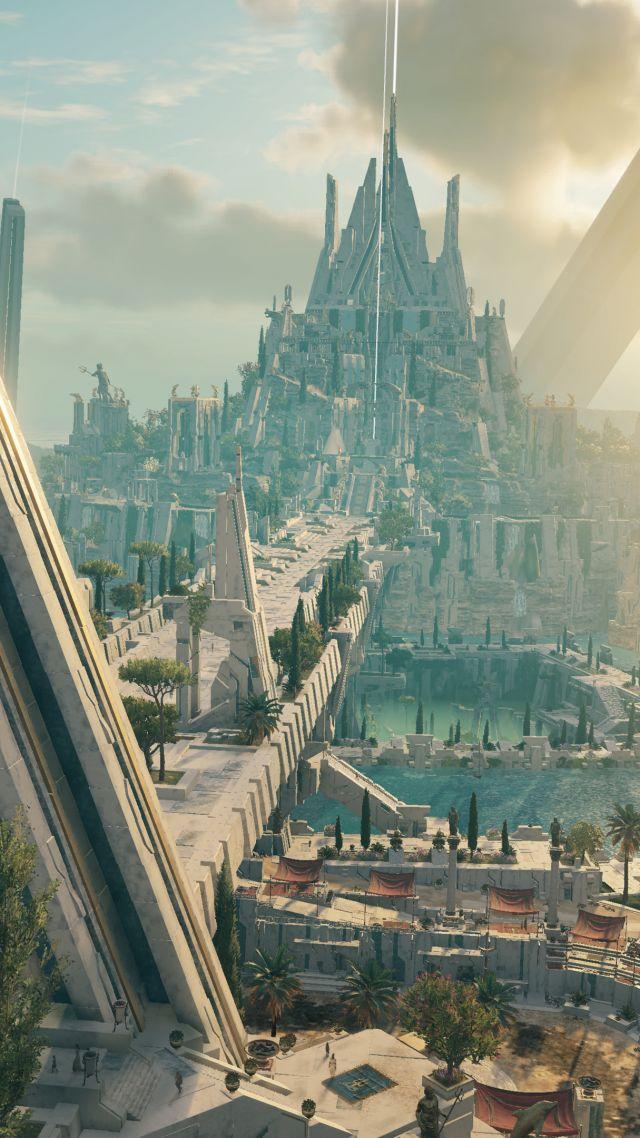 Wallpaper Assassins Creed Odyssey Judgment Of Atlantis