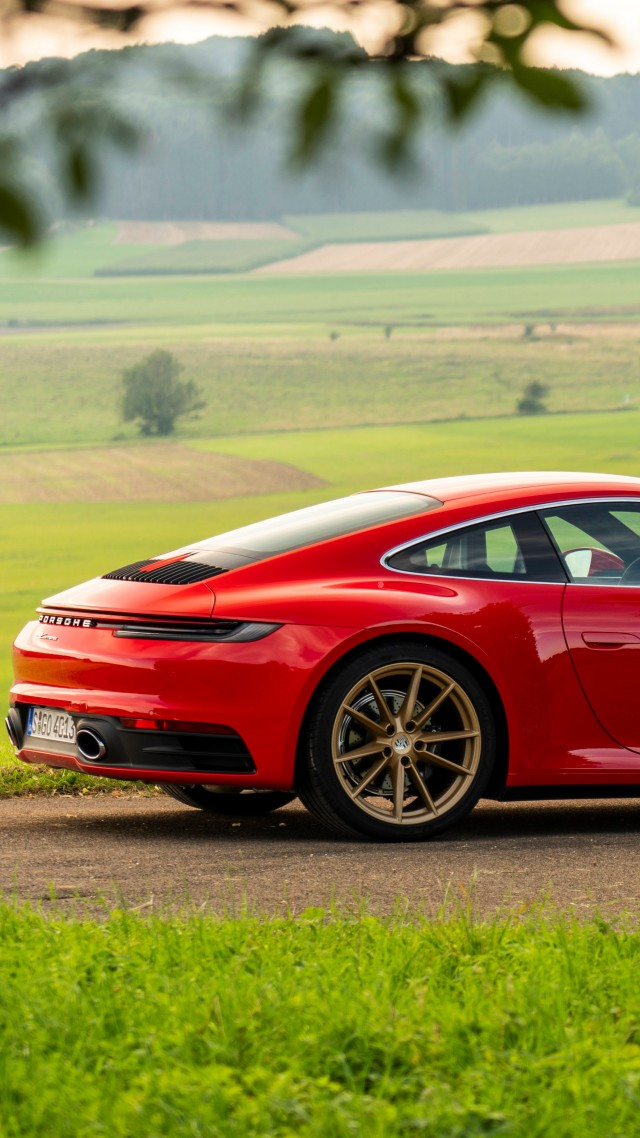 Porsche 911 (922) Carrera Coupe, 2020 cars, 5K (vertical)