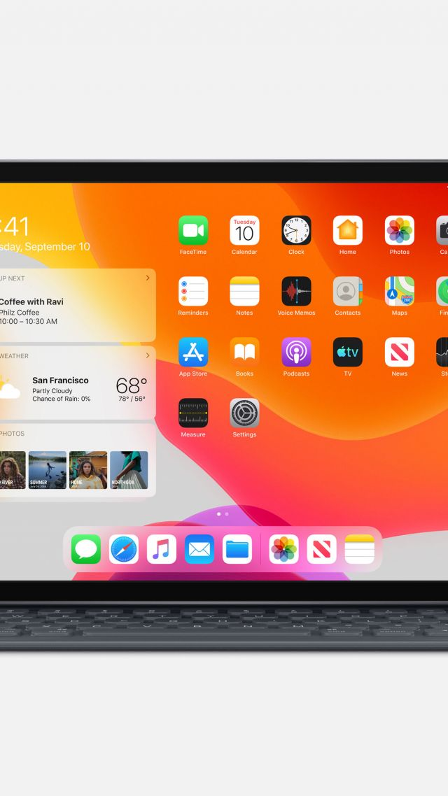 iPad 10.2‑inch, Apple September 2019 Event, 4K (vertical)