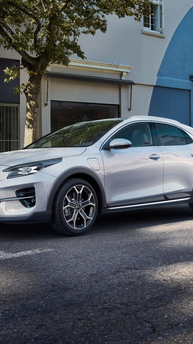 Kia XCeed PHEV, electric cars, 2019 cars, 4K (vertical)